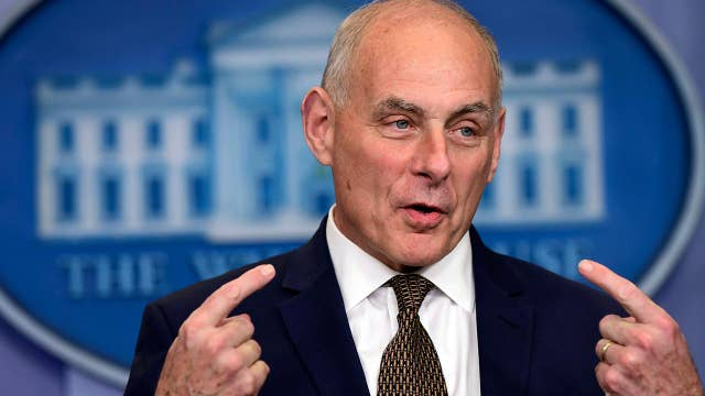 John Kelly defends Trump's tweets on Puerto Rico