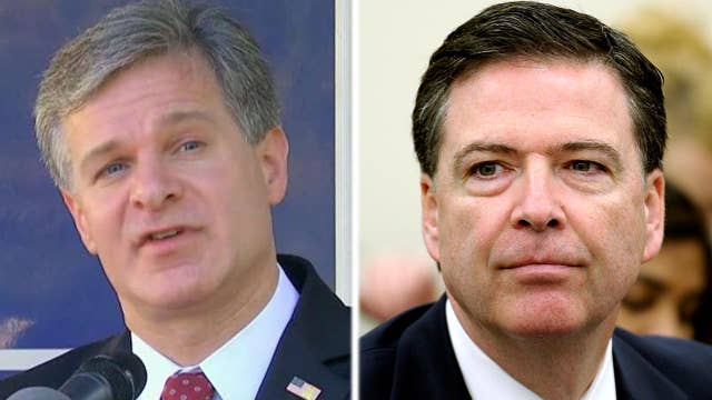 FBI director says there is no investigation into James Comey