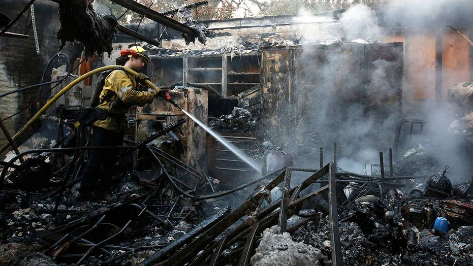 At least 23 killed in northern California wildfires