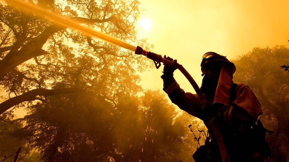 Wildfires wreak havoc through California's wine country