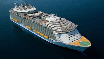 Royal Caribbean's newest ship the Symphony of the Seas is looking to hold on to the title of World's Largest Cruise Ship, weighing in at 230,000 tons, with over 2,759 staterooms, and can carry 5,5000 guests.