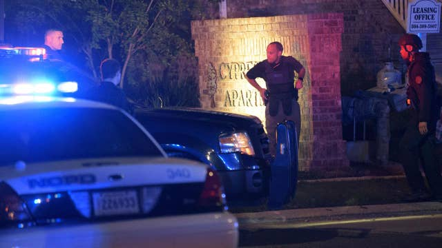 New Orleans police officer killed in 'ambush attack'
