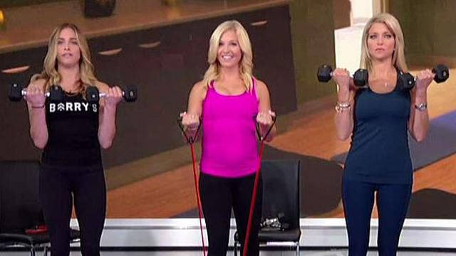 Anna Kooiman's pregnancy workout