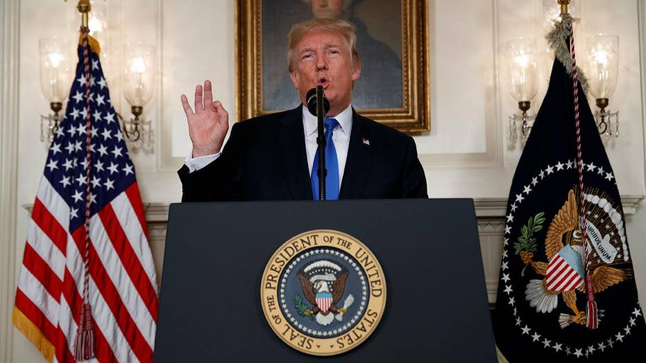 Trump delivers a blow to the Iran deal, ObamaCare