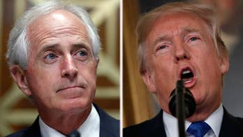Feud with Sen. Corker puts focus on Trump's tax cuts