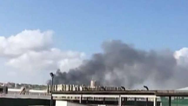 At least 20 killed after truck bomb explosion in Somalia