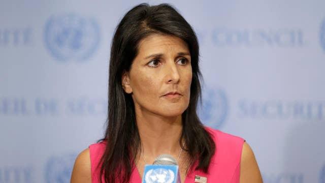 U.N. Amb. Nikki Haley and the Iran deal