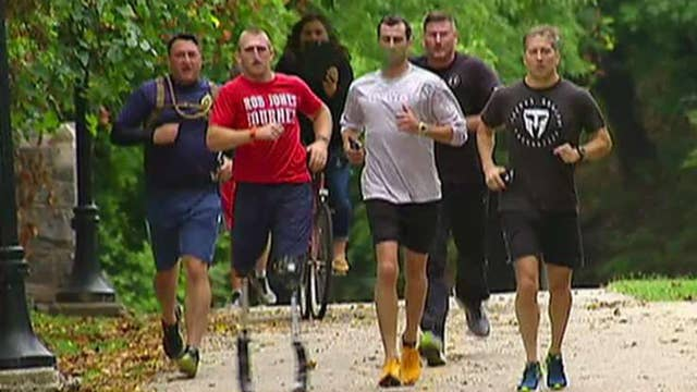 Double-amputee veteran to run 31 marathons in one month