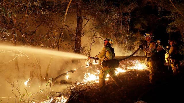 Many missing as California responders fight wildfires