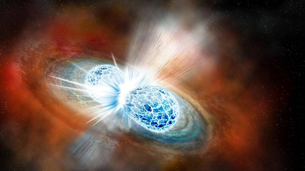 Cosmic collision estimated to have created $10 octillion in gold