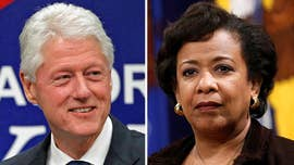 Conservative watchdog group Judicial Watch said Friday that the FBI has uncovered 30 pages of documents related to the controversial 2016 tarmac meeting between former President Bill Clinton and former Attorney General Loretta Lynch.