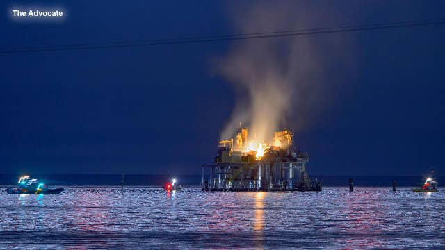 Investigation into cause of Louisiana oil rig explosion