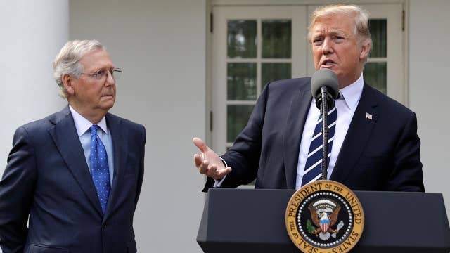 Trump: McConnell and I are fighting for the same thing