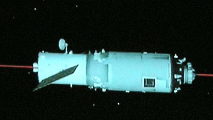 A representative for China's space agency says most of the abandoned 8.5-ton Tiangong-1 should burn up in the atmosphere, but large sections could still hit the ground.