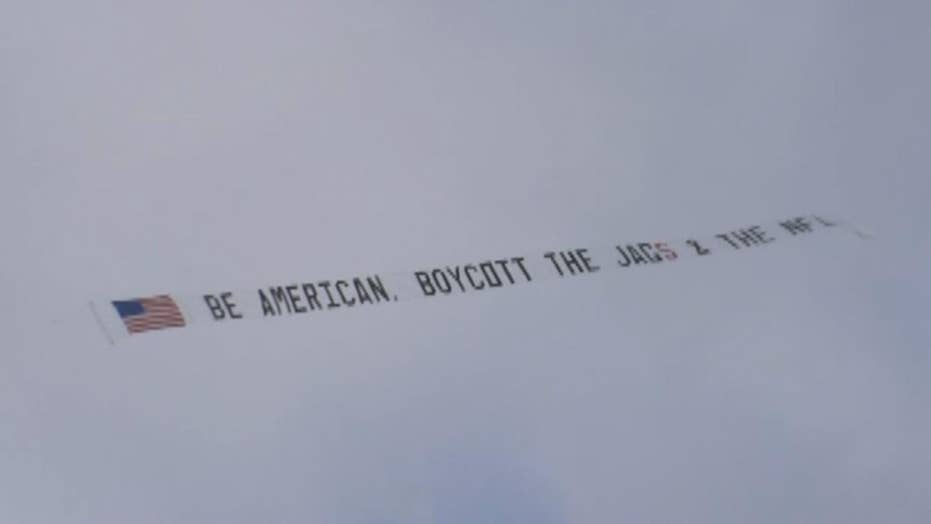Former Jags fan hires plane asking people to boycott NFL