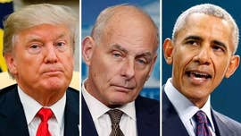 President Trump doubled down Tuesday on his controversial claim that past presidents didn't properly console the families of fallen servicemembers, raising the point that Barack Obama apparently did not call now-White House Chief of Staff John Kelly after his son was killed in Afghanistan in 2010.