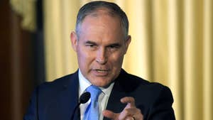 Pruitt declares the war on coal is over, argues against governmental overreach, says US is leading with action on climate change.