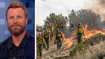 Country music singer pays tribute to fallen firefighters with new song.