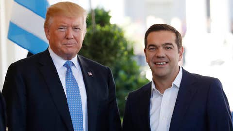 President Trump, PM Tsipras hold joint press conference