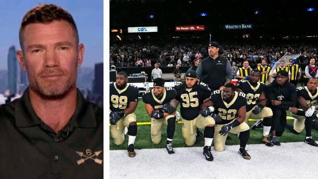 Former NFL player, vet calls for unity amid anthem protests