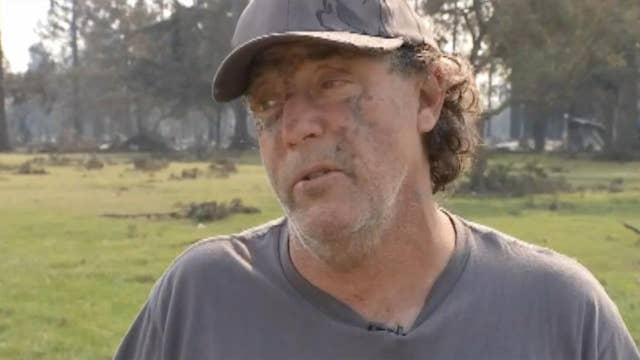 California wildfire hero recalls dramatic escape from blaze