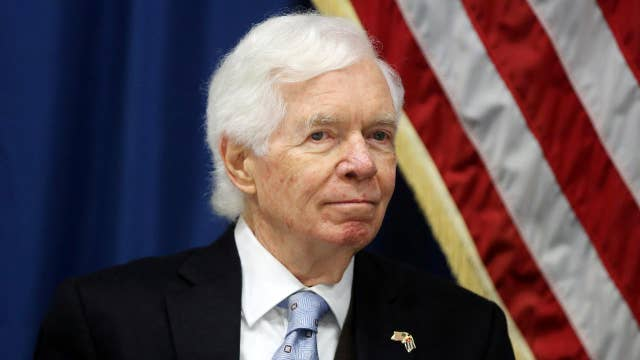Republican Sen. Cochran to miss budget vote