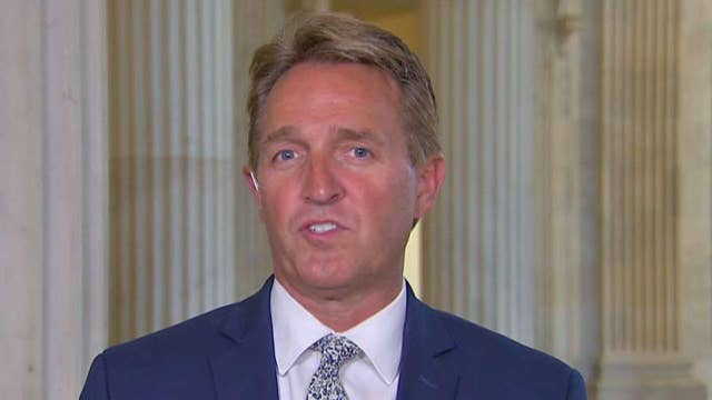 Sen. Flake talks push to get tax reform across finish line