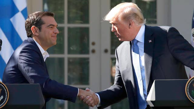 Trump: The American people stand with the Greek people