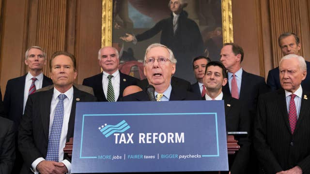 Tax reform hangs on GOP's ability to pass a budget