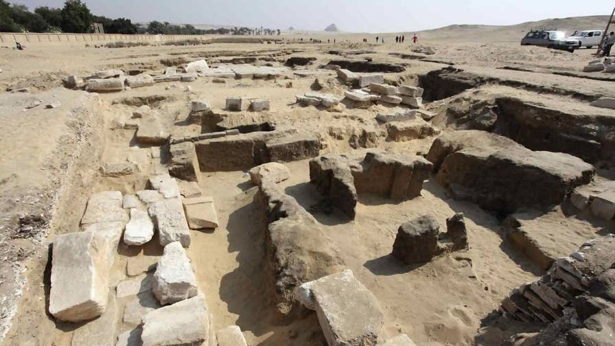 Egypt's Ministry of Antiquities says that the discovery of the lost temple of Ramses II was made by an Egyptian-Czech mission in the village of Abusir southwest of Cairo. The excavation site is near the famous step pyramid of Saqqara.