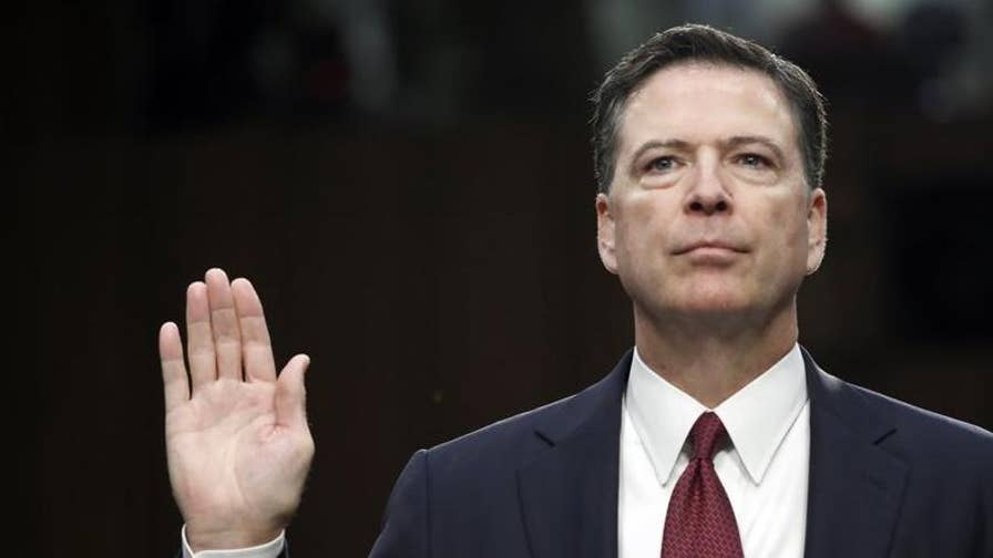 Report: FBI confirms the former director drafted a letter exonerating Hillary before the investigation was complete; Ron Hosko explains on 'The Story.'