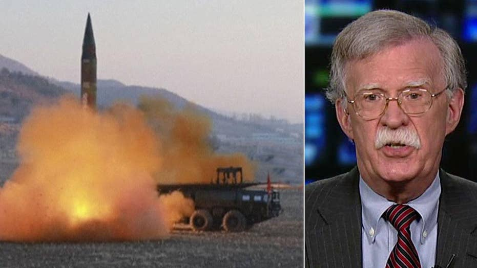 Amb. Bolton: North Korea's nuclear war threat is propaganda
