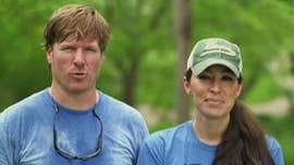 "Joanna Gaines revealed the photoshoot for the cover of her and husband, Chip's, magazine, ""The Magnolia Journal,"" was ""pretty crazy."""