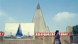 "Recent satellite images suggest that construction has restarted on North Korea's ominous ""Hotel of Doom."""