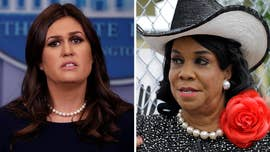 "White House Press Secretary Sarah Sanders on Wednesday blasted Democratic Rep. Frederica Wilson's criticism of the president's call to a fallen soldier's widow as ""appalling and disgusting,"" even as the congresswoman stood by her account."