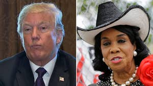 President Trump denies Democratic congresswoman's claim that he told the widow of a U.S. soldier recently killed in Niger that 'he knew what he signed up for.'