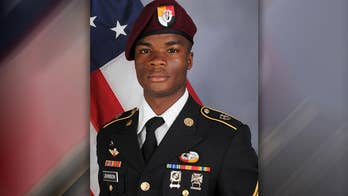 Army Sgt. La David Johnson was among four service members who died in northwestern Africa during an ambush; Griff Jenkins reports from Washington.