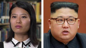 Grace Jo, now a U.S. citizen, says the tough talk is the only thing the rogue regime in Pyongyang understands.