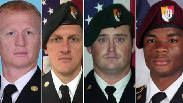 Trump calls families of soldiers killed in Niger