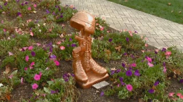 Battlefield Cross marker returned to Ohio cemetery