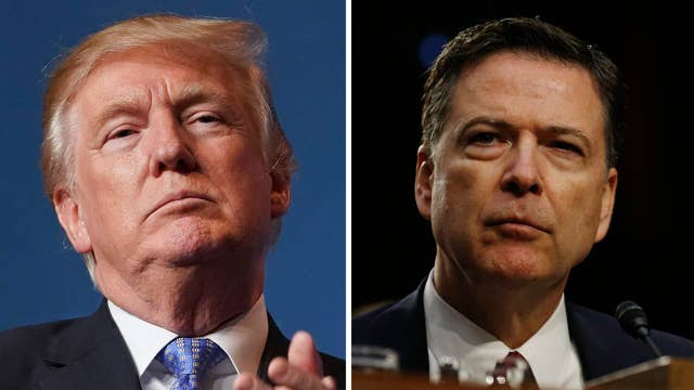 Trump reacts to Comey, Clinton revelations on Twitter