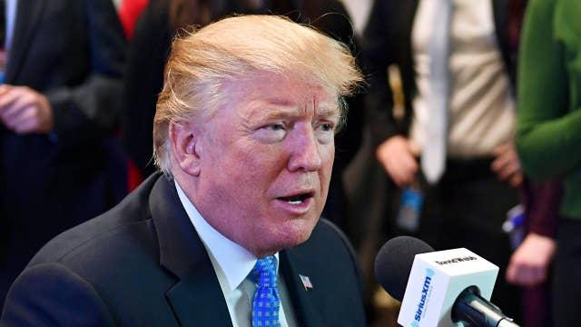 Trump defends condolence calls, rejects ObamaCare bill