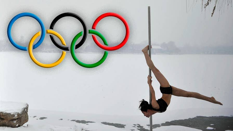 "Pole dancing isn't just for gentlemen's clubs, because it could become an Olympic sport. The global association of international sports federation gave pole dancing ""observer status,"" which means it will now provisionally be classified as a sport. Other competitive events hoping to gain Olympic recognition include; poker, table soccer, arm wrestling and dodgeball."