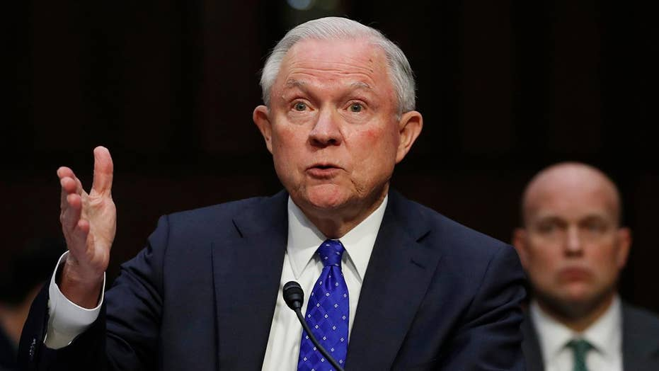 Sessions refuses to discuss his conversations with Trump