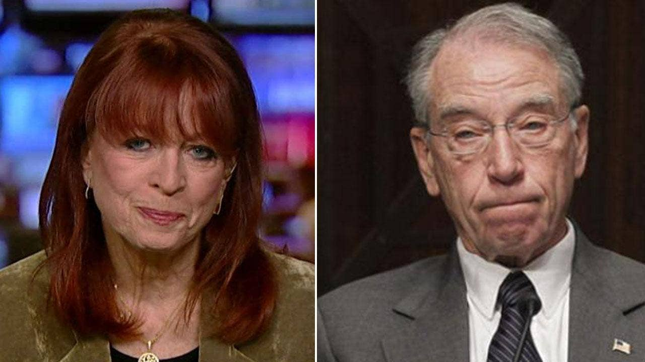 Grassley wants 'gag order' lifted for FBI informant allegedly 'threatened' by Obama DOJ