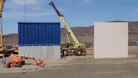 U.S. Customs and Border Protection awarded eight contracts to six companies to build the prototypes.  Four are made of reinforced concrete, the others involve alternate materials, mostly steel.