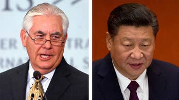 Tillerson suggested impatience with China, as President Xi Jinping consolidates power on his way to a second term; Rich Edson has the story for 'Special Report.'