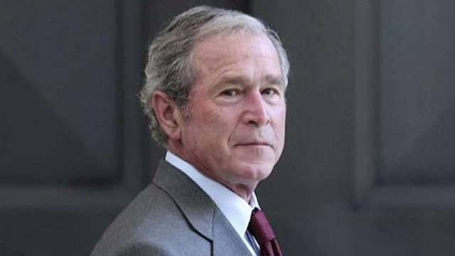 What does Bush think about Trump's handling of North Korea?
