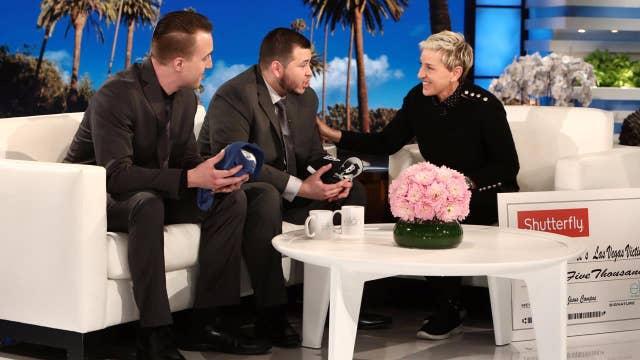 Ellen fails to get key answers in Las Vegas guard interview