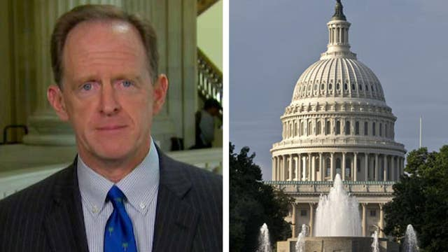 Sen. Toomey: I think we're going to pass a budget today
